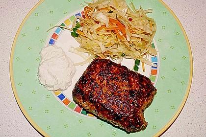 Bifteki mit Schafskäse 9