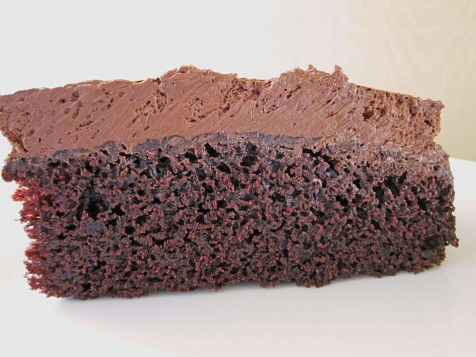 rezept backofen cremiger schokoladenkuchen. Black Bedroom Furniture Sets. Home Design Ideas