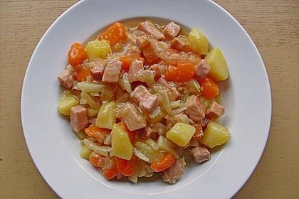 Weißkohl-Eintopf mit Kasseler 5