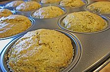 Möhren - Nuss - Muffins mit Guss