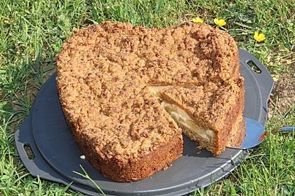Apfel-Vanille-Kuchen mit Streuseln 1