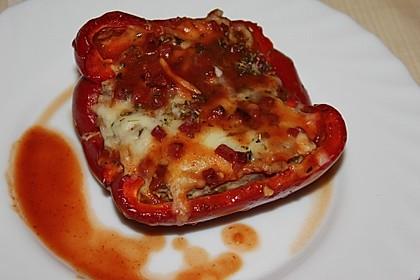 Würzige gefüllte Paprika 1