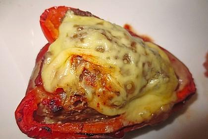 Würzige gefüllte Paprika 2