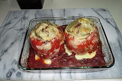 Würzige gefüllte Paprika 4