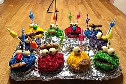 Krümelmonster Muffins 111