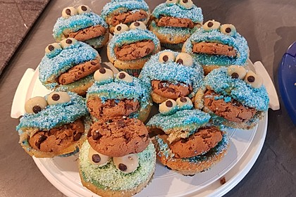 Krümelmonster Muffins 109