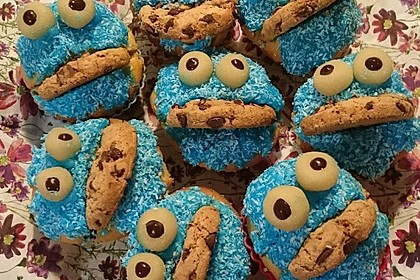 Krümelmonster Muffins 31