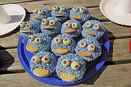 Krümelmonster Muffins 99