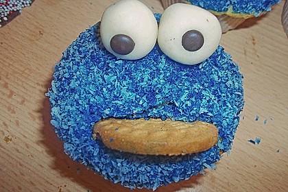 Krümelmonster Muffins 36