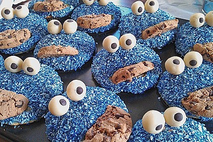 Krümelmonster Muffins 40