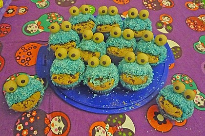 Krümelmonster Muffins 90