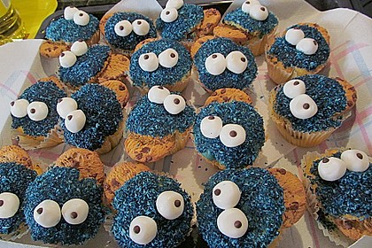 Krümelmonster Muffins 92