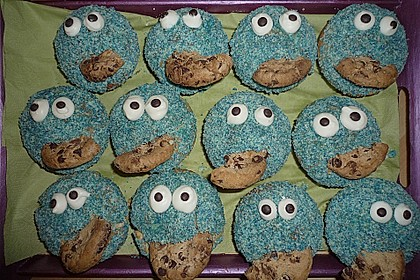 Krümelmonster Muffins 107