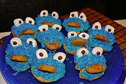 Krümelmonster Muffins 77