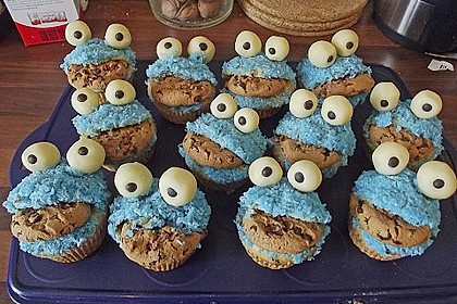 Krümelmonster Muffins 72
