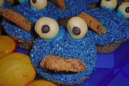 Krümelmonster Muffins 70