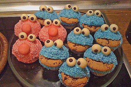 Krümelmonster Muffins 45