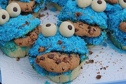 Krümelmonster Muffins 69