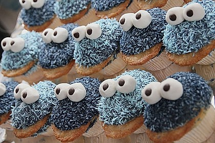 Krümelmonster Muffins 14