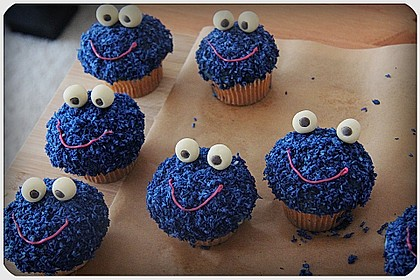 Krümelmonster Muffins 68