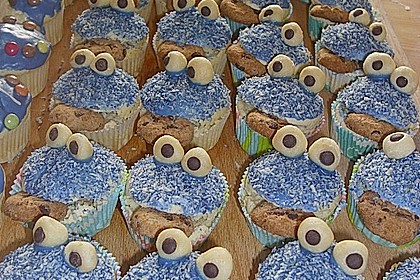 Krümelmonster Muffins 35