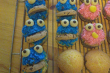 Krümelmonster Muffins 125