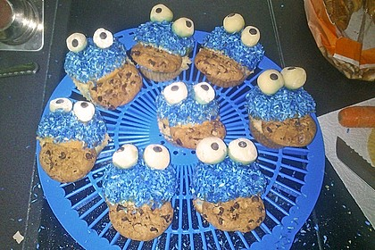 Krümelmonster Muffins 131