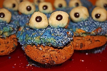 Krümelmonster Muffins 140