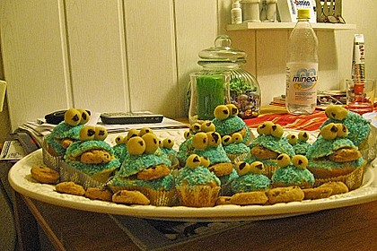 Krümelmonster Muffins 126