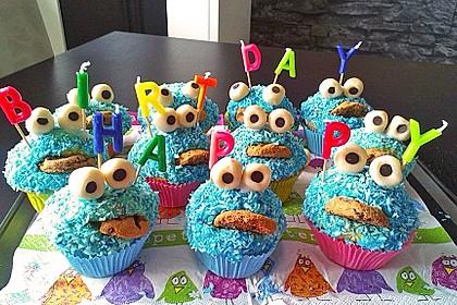 Krümelmonster Muffins 18
