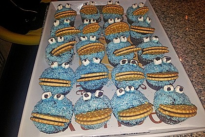 Krümelmonster Muffins 123