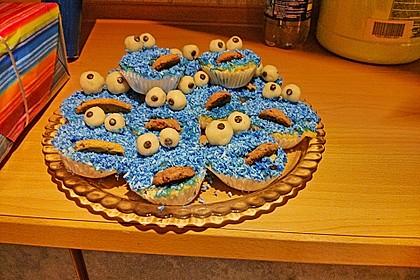 Krümelmonster Muffins 144