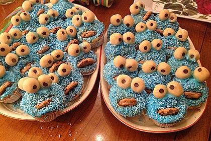 Krümelmonster Muffins 17