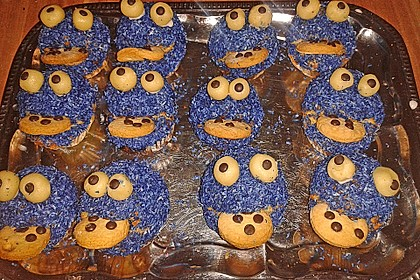Krümelmonster Muffins 48