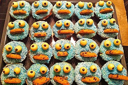 Krümelmonster Muffins 62