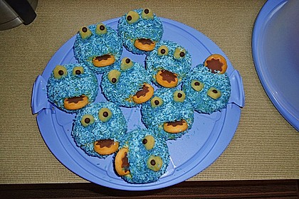 Krümelmonster Muffins 42