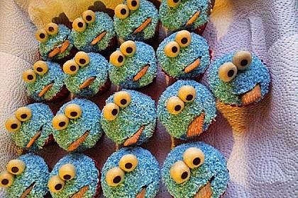 Krümelmonster Muffins 50