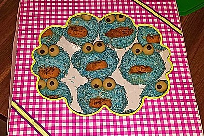 Krümelmonster Muffins 78