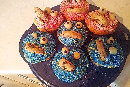 Krümelmonster Muffins 150