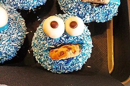 Krümelmonster Muffins 12