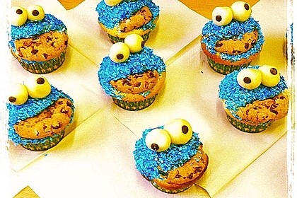 Krümelmonster Muffins 24
