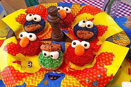 Krümelmonster Muffins 2