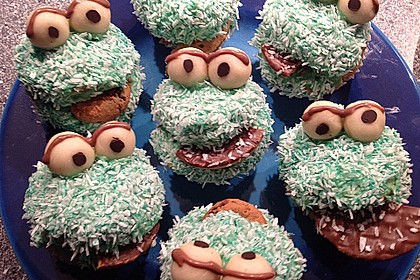 Krümelmonster Muffins 29