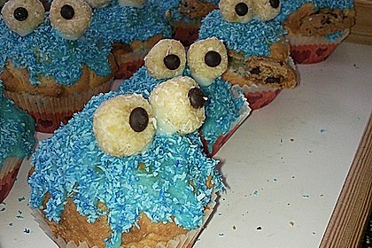 Krümelmonster Muffins 136