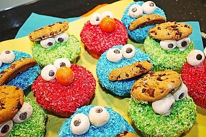 Krümelmonster Muffins 11