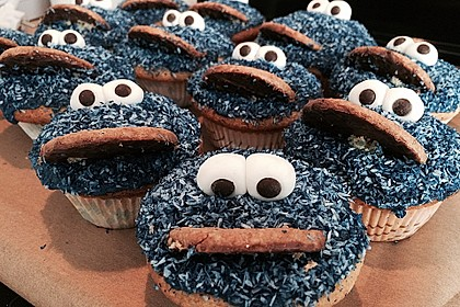 Krümelmonster Muffins 25