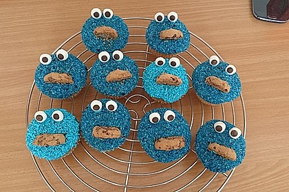 Krümelmonster Muffins 26