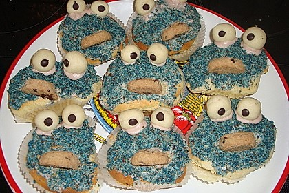 Krümelmonster Muffins 163