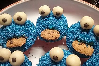 Krümelmonster Muffins 6