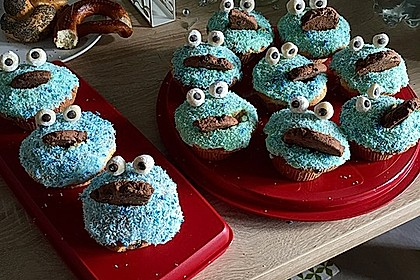 Krümelmonster Muffins 30